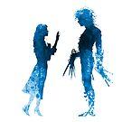 Edward Scissorhands [Blue] by Jonathan Masvidal