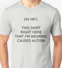 wordy declaration T-Shirt