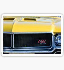 1970 Buick GS Grille Emblem -0102c Sticker