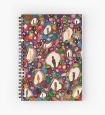 people between the cracks Spiral Notebook