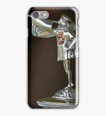1929 Cadillac 1183 Dual Cowl Phaeton Hood Ornament -2402c iPhone Case/Skin