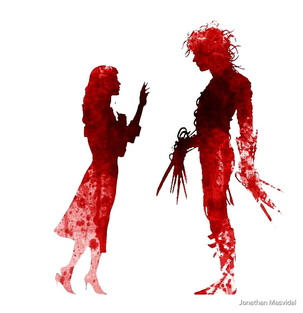 Edward Scissorhands [Red] by Jonathan Masvidal