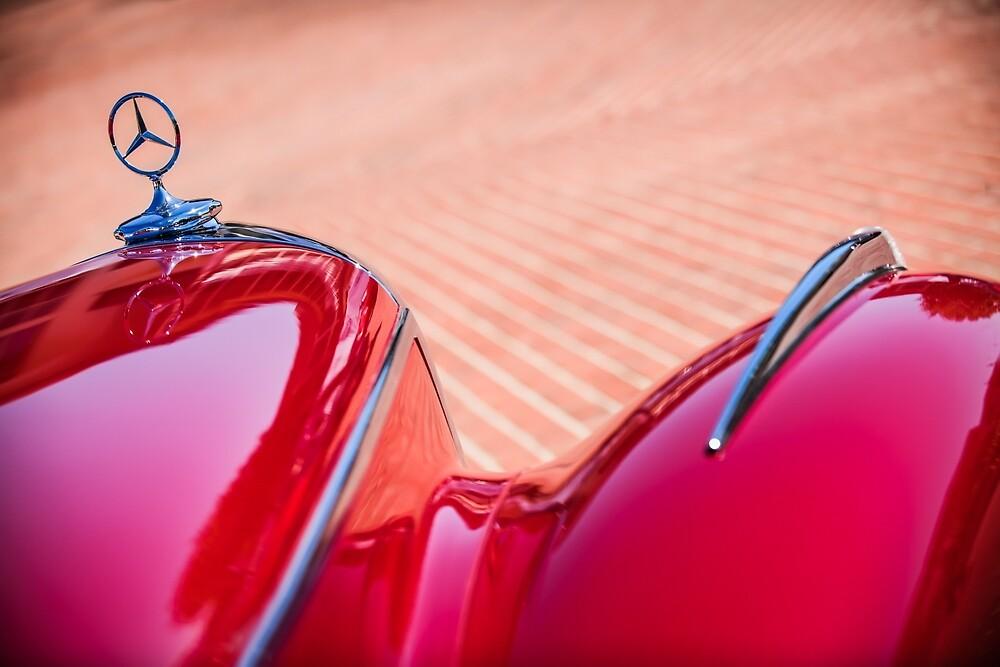 1934 Mercedes-Benz 500K Tourer Hood Ornament -1109c by Jill Reger