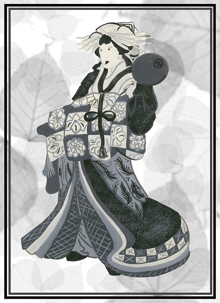 Japanese Kabuki Actress by OhGodsAbove