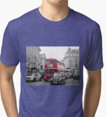 London Bus Tri-blend T-Shirt