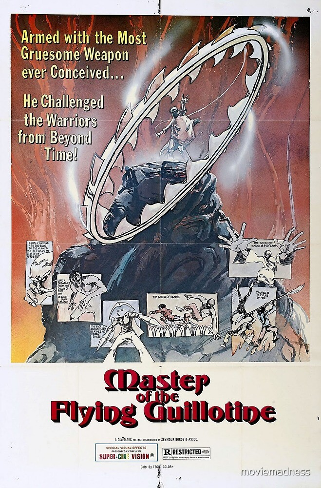 Master of Flying Guilotine by moviemadness