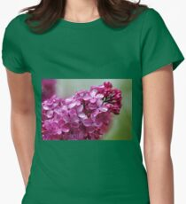 Heavenly Lilacs Womens Fitted T-Shirt