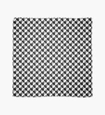 Schwarz-Weiß-Schachbrett Weimaraner Tuch