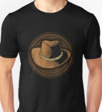 Cowboy Hat Retro Graphic Design Unisex T-Shirt