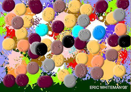 (GOOD NIGHT GENTLEMAN ) ERIC WHITEMAN ART  by eric  whiteman
