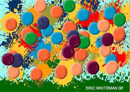 {JOHN BENNER }  ERIC WHITEMAN  ART by eric  whiteman