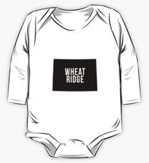 Wheat Ridge, Colorado Silhouette One Piece - Long Sleeve