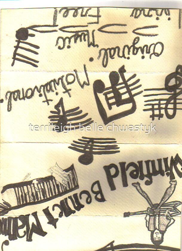 Music! by terrileigh belle chwastyk