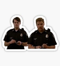 Superbad cops Sticker