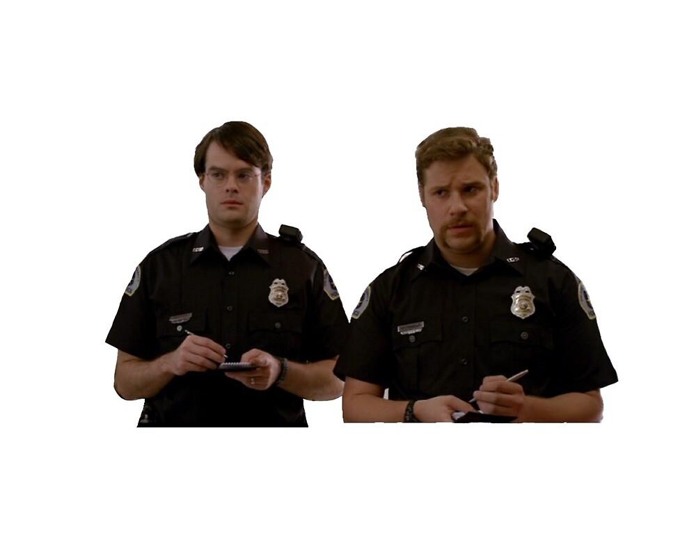Superbad cops by chloecastro