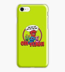 THE FAT CAT SAT ON THE HAT iPhone Case/Skin