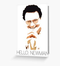 Hello, Newman Greeting Card