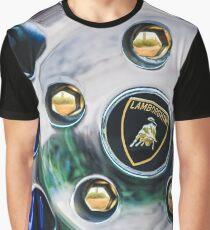 1997 Lamborghini Diablo Roadster  Wheel Emblem -1303c Graphic T-Shirt