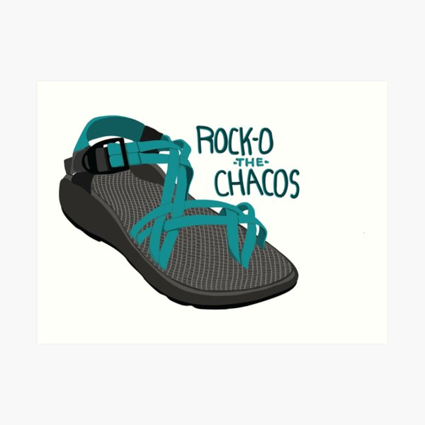 Rock-O The Chacos Art Print