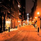 Quebec Street at Night by APhillips