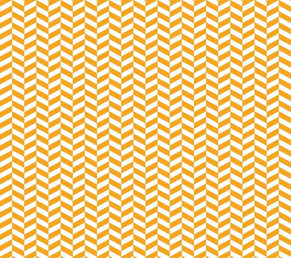 Orange Herringbone Pattern Design by SkylineSquirrel