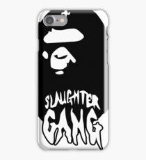 Slaughter Gang Bape Logo iPhone Case/Skin