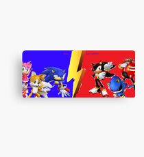 EPIC BATTLE!!!!! Canvas Print