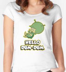 HELLO DUM DUM : GAZOO Women's Fitted Scoop T-Shirt