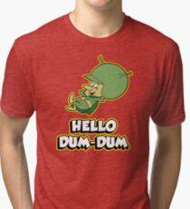 HELLO DUM DUM : GAZOO Tri-blend T-Shirt