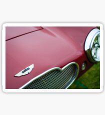 1953 Aston Martin DB2-4 Bertone Roadster Hood Emblem -1095c Sticker