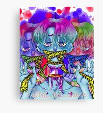 Toxic City Canvas Print
