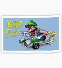 Kart Fink Lil Bro! Sticker