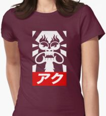 AKU FOR PRESIDENT Womens Fitted T-Shirt