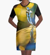 1936 Cadillac Hood Ornament -1593c Graphic T-Shirt Dress