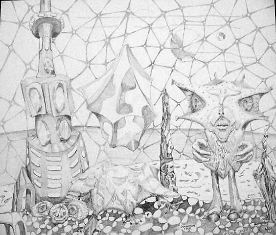 Dimension by Harry G. Sepulveda
