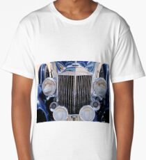 1933 Packard 12 Convertible Coupe Grille -0537c Long T-Shirt