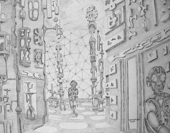 Engineering room by Harry G. Sepulveda