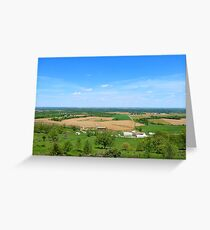 A View From Balltown Greeting Card