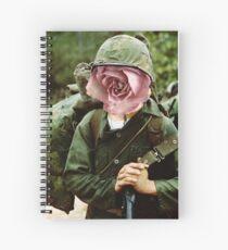 Peaceful War Spiral Notebook