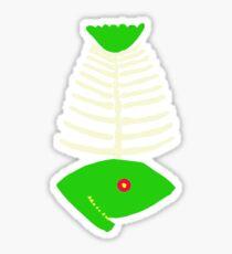 green fish Sticker