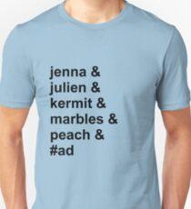Jenna & Julien Family T-Shirt