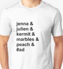 Jenna & Julien Family Unisex T-Shirt