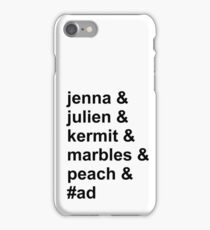 Jenna & Julien Family iPhone Case/Skin