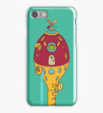 Bison Pod, from the AlphaPod collection iPhone Case/Skin