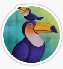Tropical Toucan Sticker