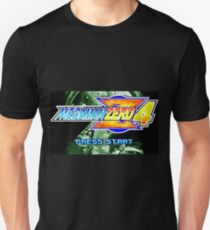 Mega Man Zero 4 Title Screen Unisex T-Shirt