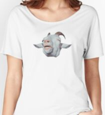 Happy Goat is Faded Women's Relaxed Fit T-Shirt