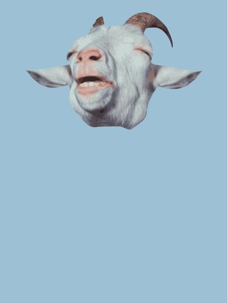 Happy Goat ist verblasst von TheShirtYurt