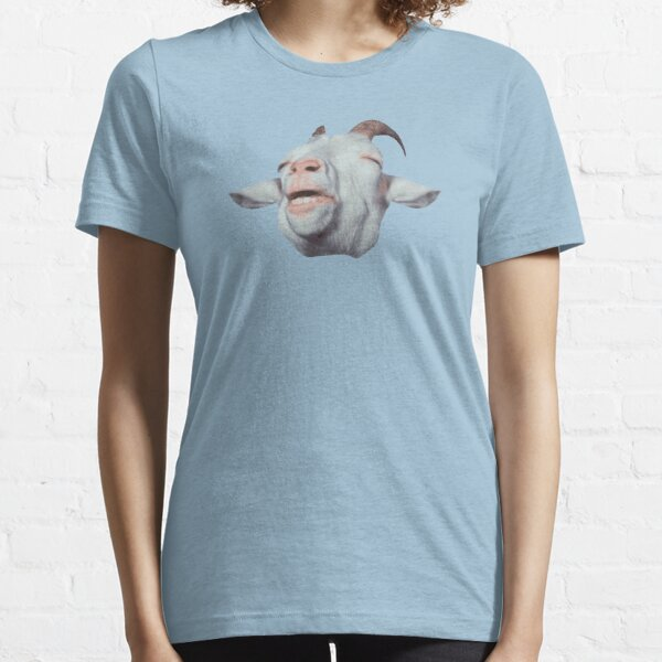 Happy Goat is Faded Essential T-Shirt