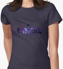 Radical Stars Womens Fitted T-Shirt